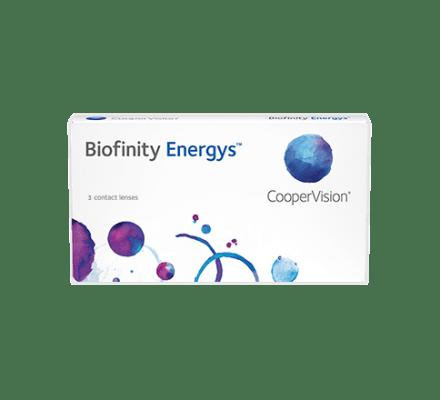 Biofinity Energys - 3 Lentilles mensuelles