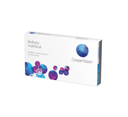 Biofinity Multifocal - 6 Monthly Lenses