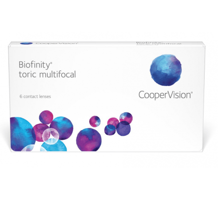 Biofinity Toric Multifocal - 6 Monthly Lenses