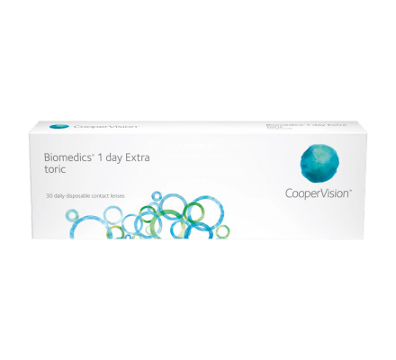 Biomedics 1 day Extra toric - 30 Daily Lenses