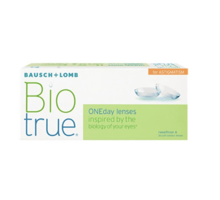 Biotrue ONEday for Astigmatism - 90 Tageslinsen