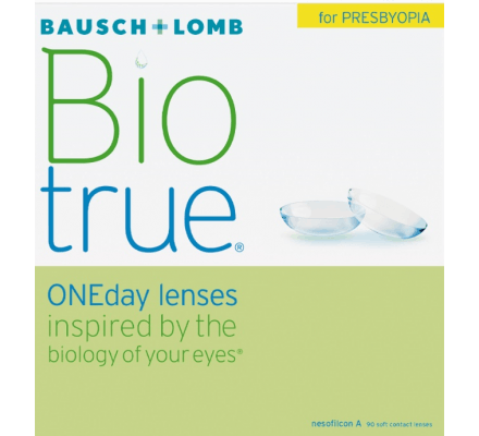 Biotrue ONEday for Presbyopia - 90 lenses