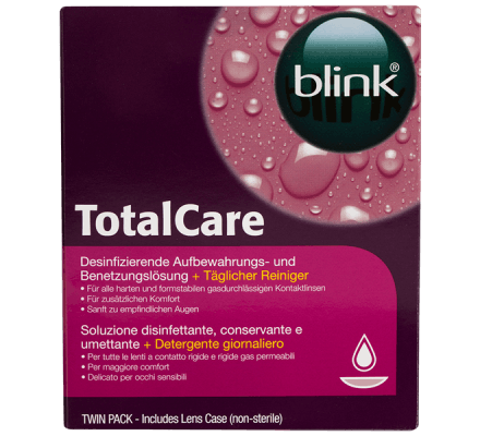 blink Total Care Twin Pack - 2x120ml + 4x 15ml