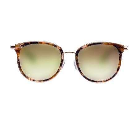LENSVISION - #ClassyMonaco - brown mustered / gold