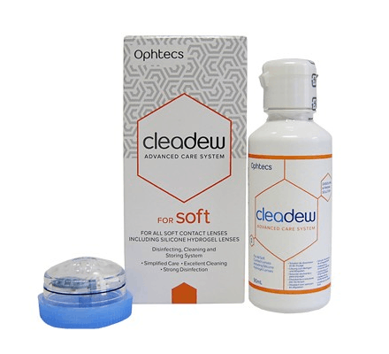 Cleadew soft Travel Kit - 90ml & 7 compresse
