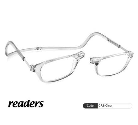 Clic Magnet Lesebrille Classic CRB Clear