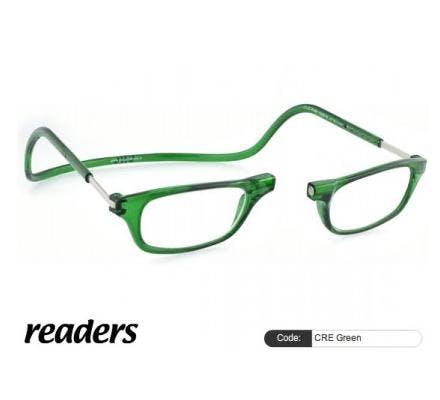 Clic Magnet Lesebrille Classic CRE Green