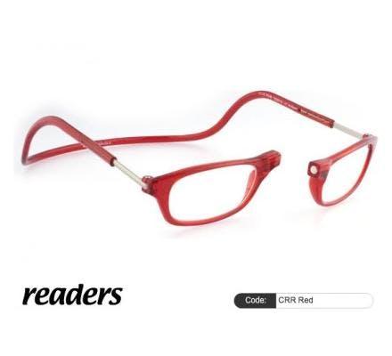 Clic Magnet Lesebrille Classic CRR Red