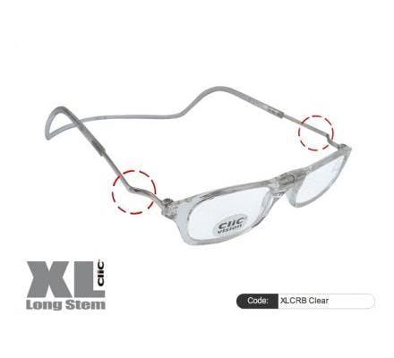 Clic Magnet Lesebrille XLCRB Clear