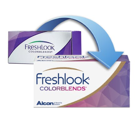 Freshlook COLORBLENDS - 2 Color Lenses