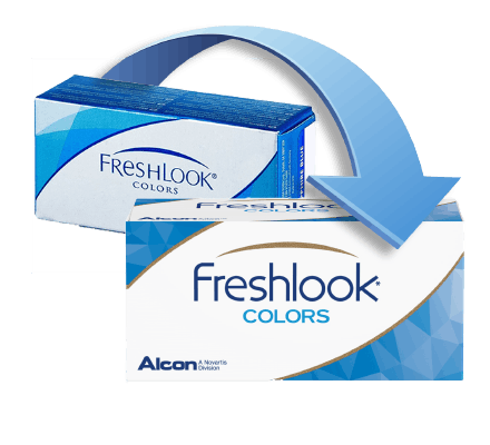 FreshLook Colors Lentilles de Contact - 2 Lentilles