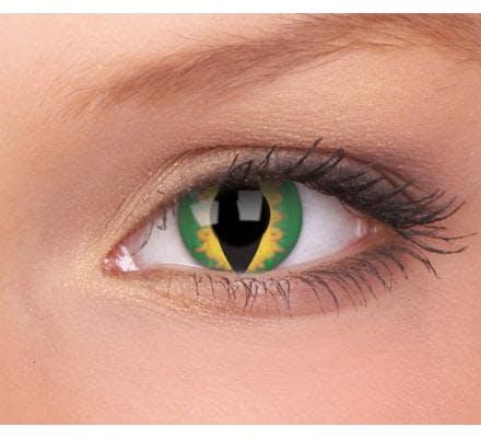 ColourVUE Crazy Lens Green Dragon - 2 Lenti a contatto