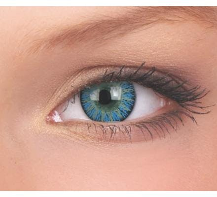 ColourVUE Glamour Aqua - 2 Kontaktlinsen