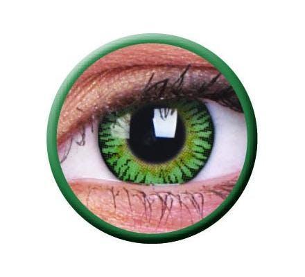 ColourVUE 3 Tones Colored Green - 2 Kontaktlinsen