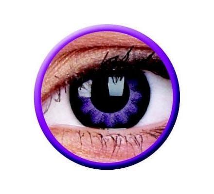 ColourVUE Big Eyes Ultra Violet - 2 Kontaktlinsen