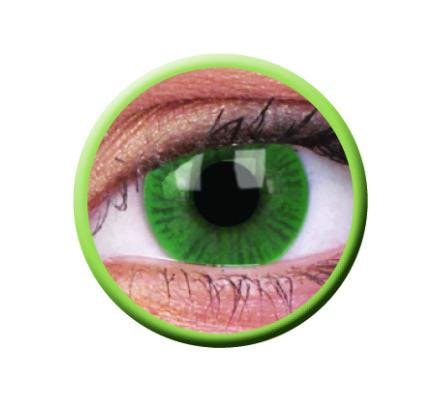 ColourVUE Basic Green - 2 Kontaktlinsen