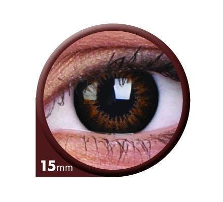 ColourVUE Big Eyes Sweet Honey - 2 Kontaktlinsen