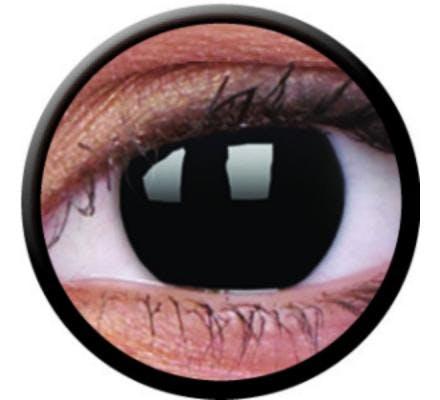 ColourVUE Crazy Lens One Day Blackout - 2 Tageslinsen
