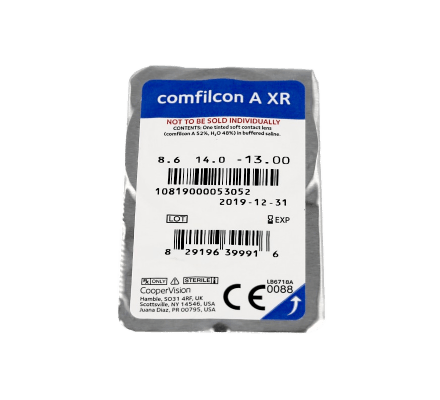Comfilcon A XR - 6 Monthly Lenses