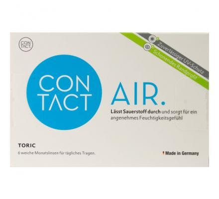 Contact Air Toric - 6 Monatslinsen