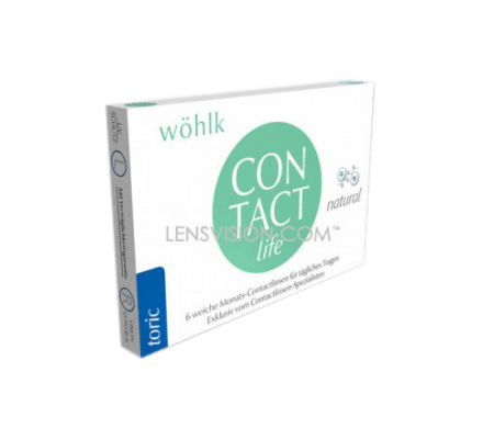 Contact Life Toric - 6 Monthly Lenses