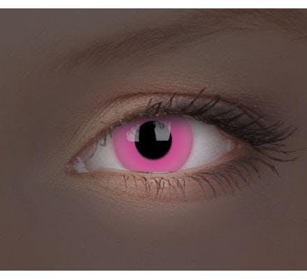 ColourVUE Crazy Lens Glow Pink - 2 Kontaktlinsen