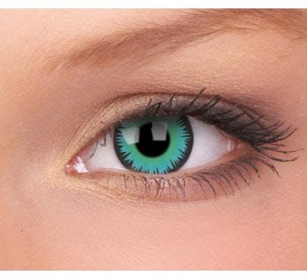 ColourVUE Crazy Lens Green Wererwolf - 2 Kontaktlinsen