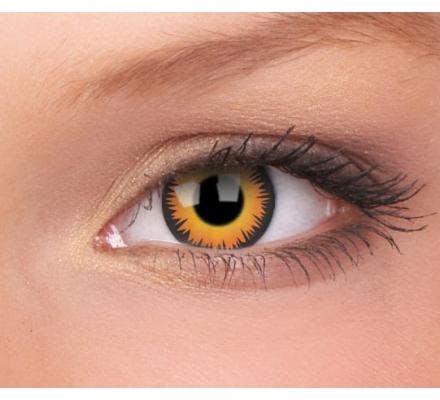 ColourVUE Crazy Lens One Day Orange Werewolf - 2 Tageslinsen