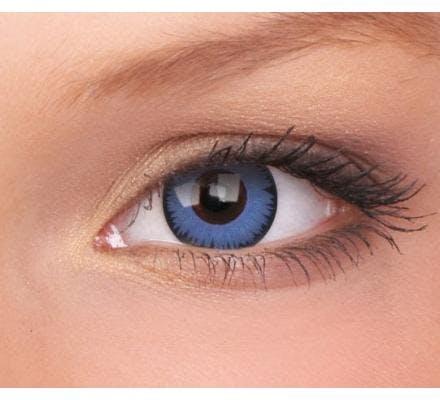 ColourVUE Space Blue - 2 Kontaktlinsen