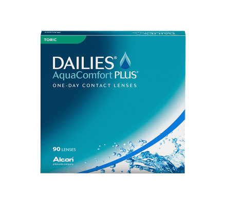 Dailies AquaComfort Plus Toric - 90 Lenses