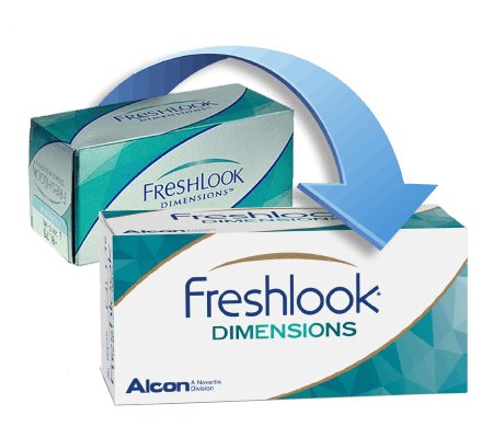 FreshLook Dimensions Contact Lenses - 2 Lenses