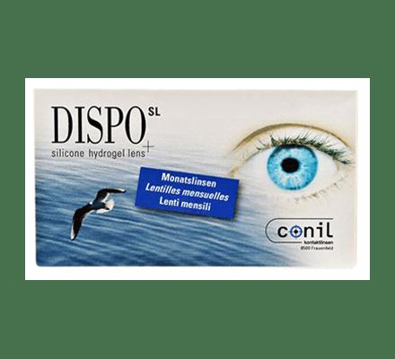 Dispo SL RX - 6 lentilles mensuelles