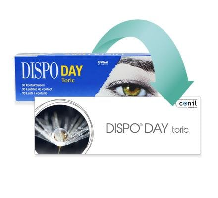 Dispo Day Toric - 30 Daily Lenses