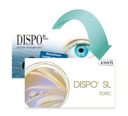 Dispo SL Toric - 6 Monthly Lenses