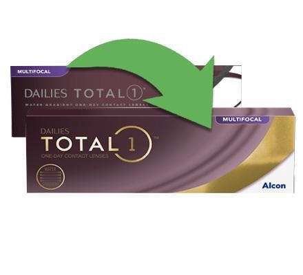 Dailies Total 1 Multifocal - 30 Tageslinsen