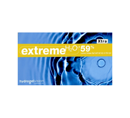 Extreme H2O 59% Xtra - 6 Monatslinsen