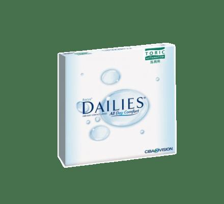 Focus Dailies Toric - 90 Tageslinsen