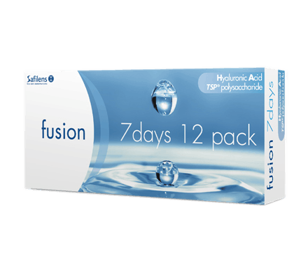 Fusion 7 days - 12 contact lenses