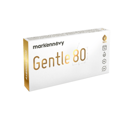 Gentle 80 SPHERIC - 6 Monthly Lenses