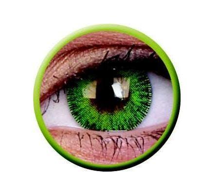 ColourVUE Fusion Yellow Green - 2 Kontaktlinsen