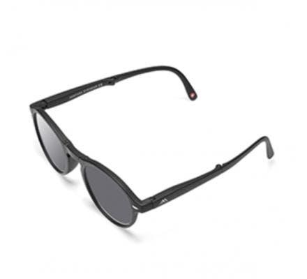 Klappbare Lese - Sonnenbrille Clever Black MR66S