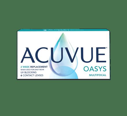 Acuvue Oasys Multifocal - 3 Probelinsen