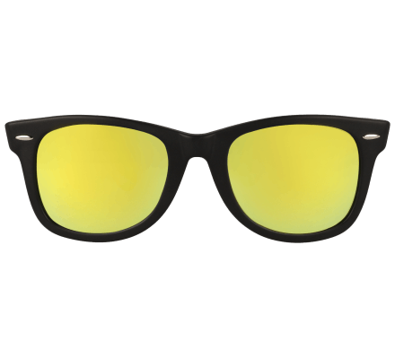 LENSVISION - #SunnyMiami - Matt Black/Yellow