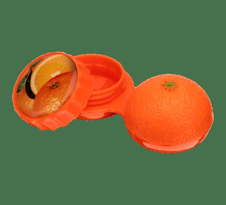 Linsenbehälter Orange - 1x