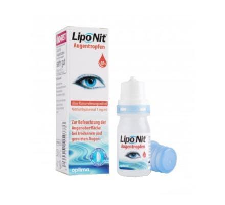 Lipo Nit Augentropfen 0.1% - 10ml Flasche