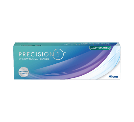 PRECISION 1 for Astigmatism - 30 Tageslinsen