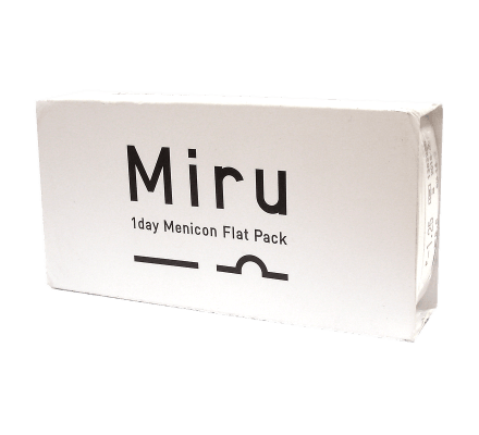 Miru 1day Menicon Flat Pack - 30 Tageslinsen