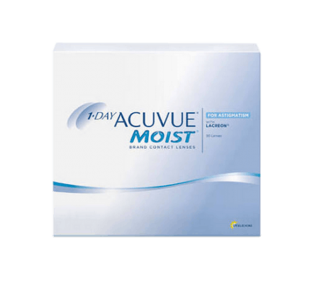 1-Day Acuvue Moist for Astigmatism - 90 Lenses