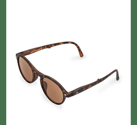 Klappbare Lese / Sonnenbrille Clever Leopard MR66SA