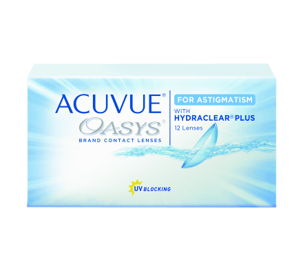 Acuvue Oasys for Astigmatism - 12 Contact Lenses